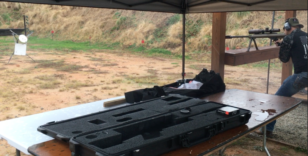 Shooting 50 BMG 20 Feet From Target
